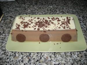 Receta Tarta dos chocolates