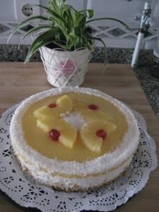 Receta Tarta de coco y piña