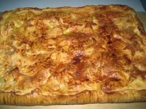 Receta Empanada de manzana  Masa Aly
