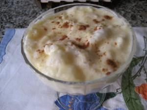 Receta Arroz con leche a la Aragonesa