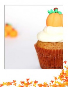 Receta Cupcakes de Calabaza (Pumpkin cupcakes)