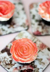 Receta Glaseando mini cupcakes y resultado del sorteo