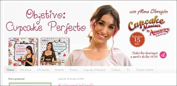 Página web Objetivo: Cupcake Perfecto.