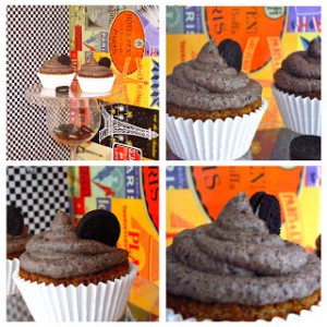 Receta Oreo Cupcakes