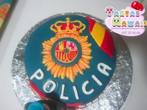 Receta Tarta Policia nacional