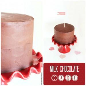 Receta Tarta de chocolate con leche