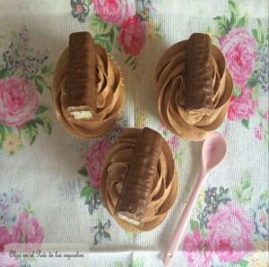 Receta Cupcakes de Twix
