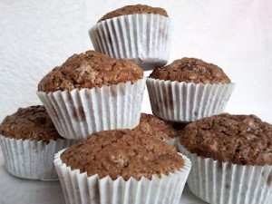 Receta Muffins de chocolate!!
