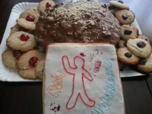 Receta Cumpleaños de Rubén… parte II… Pastas de almendra