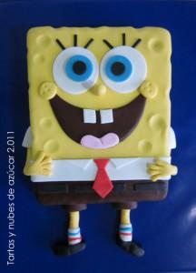 Receta Como hacer una tarta de Bob Esponja  …Paso a paso