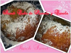 Receta Bund Cake de Pomelo y Canela