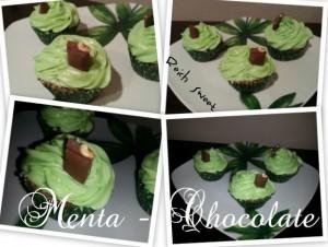 Receta Cupcakes Menta – Chocolate