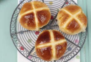 Receta HOT CROSS BUNS