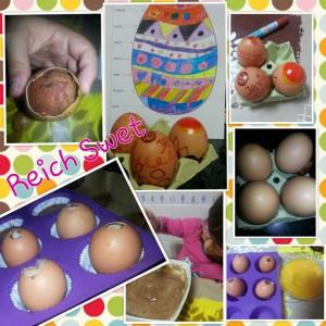 Receta Brownie en huevos… made Lucia ♥