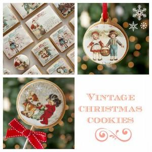 Receta Papel de azúcar de estilo «Vintage» para decorar vuestras galletas de Navidad