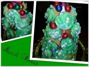 Receta Feliz Navidad!!!… Árbol de Cupcakes