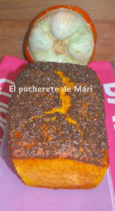Receta CAKE DE CALABAZA Y VIRUTAS DE CHOCOLATE
