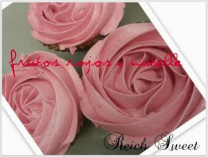 Receta Cupcakes de frutos rojos con nutella
