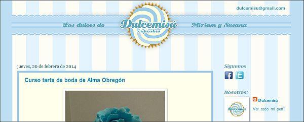Página web Dulcemisú