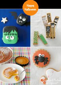 Receta 4 ideas dulces para Halloween