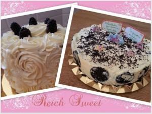 Receta Las tartas de mi cumpleaños ♥