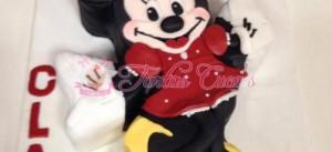 Receta Tarta Fondant Minnie Mouse!!
