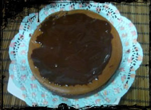 Receta CHEESECAKE DE CHOCOLATE