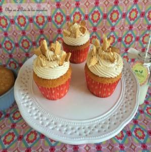 Receta Cupcakes de galleta María