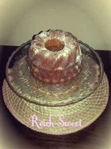 Receta Dulce de leche Bundt Cake