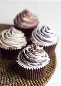 "Receta Cupcakes de café irlandés con chocolate ""para dormir mejor"""