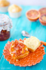 Receta Mermelada de naranja sanguina