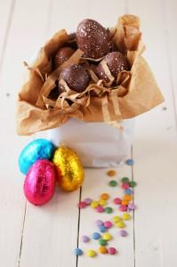 Receta Huevos de pascua con sorpresa