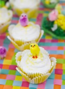 Receta La invasión de los pollos!!! (Cupcakes de Limoncello)