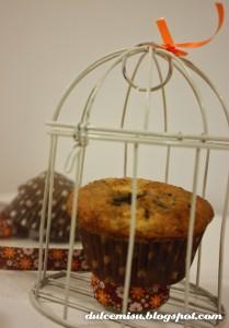 Receta Muffin de mango con pepitas de chocolate