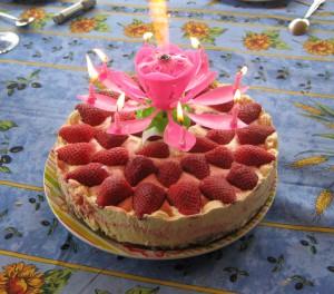 Receta Tarta helada de fresas